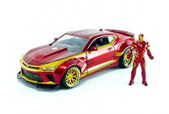 Jada 1/24 '16 Camaro with Ironman Figure image