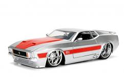 Jada 1/24 1973 Ford Mustang Mach 1 Big Time Muscle image