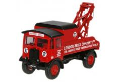 Oxford  1/76 AEC Matador Wrecker London Brick Company image