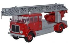 Oxford  1/76 AEC Mercury Turntable Ladder Plymouth Fire Brigade image