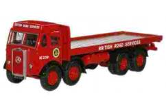 Oxford  1/76 Atkinson 8 Wheel Flat Bed Lorry BRS image
