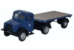 Oxford  1/76 Bedford OX Flatbed Trailer LNER image