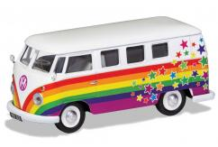 Corgi 1/43 Volkswagen Campervan - Peace Love and Wishes image
