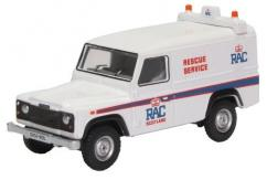 Oxford  1/76 Land Rover Defender LWD Hard Back RAC image