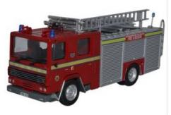 Oxford  1/76 Dennis RS Fire Appliance Hottingham Fire Brigade image