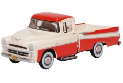 Oxford 1/87 1957 Dodge D100 Sweptline Pickup image