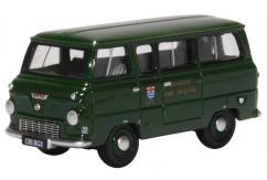 Oxford 1/76 Ford 400E Minibus - London Fire image