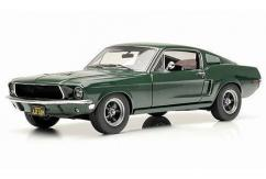 Greenlight Collectables 1/18 1968 Ford Mustang GT Fastback- Bullit Mustang Green image