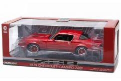 Greenlight 1/18 1979 Chevy Camaro Z/28 Red with Black Stripes image