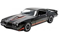 Greenlight 1/18 1979 Chevy Camaro Z/28 Black Hard Top image