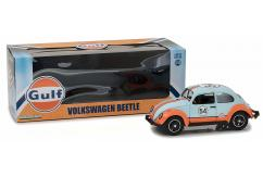 Greenlight Collectables 1/18 1967 Volkswagen Beetle Blue/Orange image