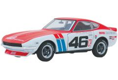 Greenlight 1/24 1970 Datsun 240Z Red/White image