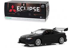 Greenlight Collectables 1/18 1995 Mitsubishi Eclipse Black image