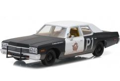 Greenlight Collectables 1/24 1974 Dodge Monaco Black/White image