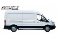 Greenlight Collectables 1/43 2015 Ford Transit (V363) White image
