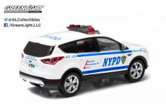 Greenlight 1/43 2014 Ford Escape (NYPD) White image