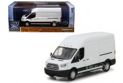 Greenlight Collectables 1/43 2017 Ford Transit LWB High Roof White image