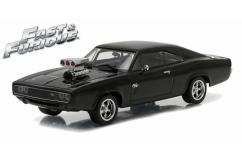 Greenlight Collectables 1/43 1970 Dodge Charger (F&F) Black image