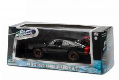 Greenlight Collectables 1/43 1970 1970 Dodge Charger R/T - Off Road Black- Off Road image