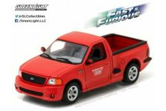 Greenlight Collectables 1/43 1999 Ford F-150 SVT Lightning Red image