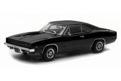 Greenlight Collectables 1/43 1968 Dodge Charger R/T - Bullitt Black image