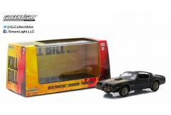 Greenlight Collectables 1/43 1979 Pontiac Firebird Trans Am Black image