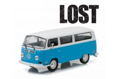 "Greenlight Collectables 1/43 1971 Volkswagen Type 2 ""Dhama"" Van Blue/White Roof image"