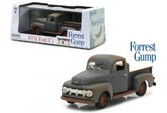 Greenlight Collectables 1/43 1951 Ford F-1 Truck- Forrest Gump-1994 Primer Grey image