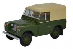 Oxford  1/76 Land Rover Series II SWB Canvas- REME  image