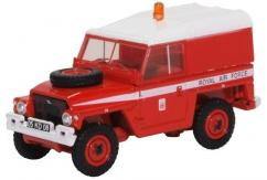 Oxford  1/76 Land Rover 1/2 Ton Lightweight RAF- Red Arrows image