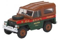 Oxford  1/76 Land Rover 1/2 Ton Lightweight Fred Dibnah image
