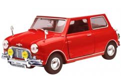 Motormax  1/18  Mini Cooper (Old Shape) Red  image