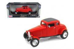 Motormax  1/18 1932 Ford Five Window Coupe Red  image
