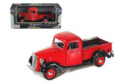 Motormax  1/24 1937 Ford Pick Up Red  image