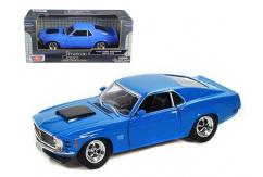 Motormax  1/24 1970 Ford Mustang Boss 429 Blue  image