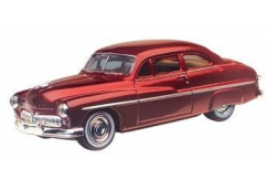 Motormax  1/43 1949 Mercury Coupe Red  image