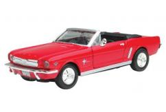 Motormax  1/43 1964 Ford Mustang Convertible Red  image