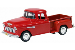 Motormax  1/43 1955 Chevrolet 5100 Stepside Metallic Red  image