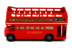 Motormax London Open Top Bus Red  image