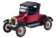Motormax  1/24 1925 Ford Model T Soft Top Runabout Burgundy  image