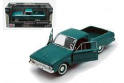 Motormax  1/24 1960 Ford Ranchero  Turquoise  image
