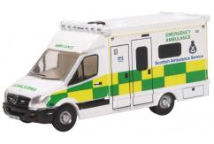 Oxford 1/148 Mercedes Ambulance - Scottish image