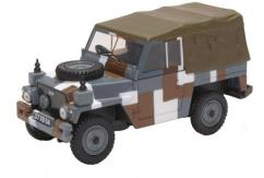 Oxford  1/43 Land Rover 1/2 Ton Lightweight Berlin Scheme image