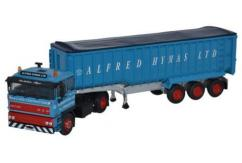 Oxford  1/76 DAF2800 Tipper- Alfred Hymes Ltd Blue image
