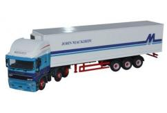 Oxford 1/76 ERF EC Olympic 40Ft Fridge Trailer - John Mackirdy  image