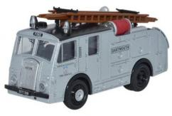 Oxford  1/76 Dennis F8 Fire Engine Devon Fire Brigade image