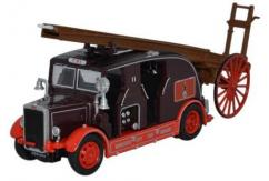 Oxford  1/76 Leyland Cub FK7 Newcastle City Fire Brigade image