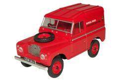 Oxford  1/76 Land Rover Series II SWB Hard Top Royal Mail image