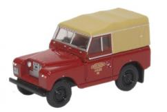 Oxford  1/76 Land Rover Series II SWB Canvas British Rail image