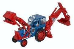 Oxford  1/76 JCB Major Loader MkI Excavator  image